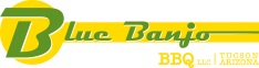 Blue Banjo BBQ Logo